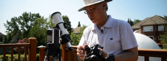How to use solar filters and make photos of the eclipse with a telescope and DSLR