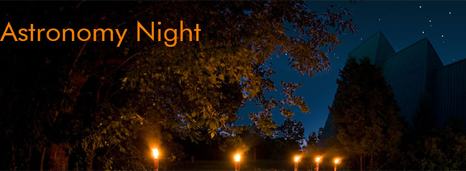 Kortright Centre Astronomy Night