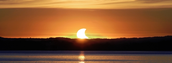 Partial Solar Eclipse 2014, John Gauvreau
