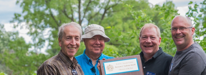 Winners of the 2015 Bert Winearls Award