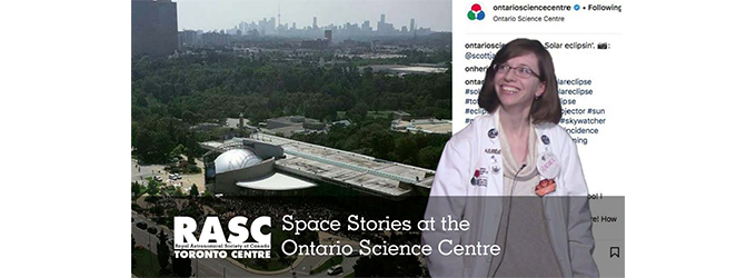 Space Stories at the Ontario Science Centre