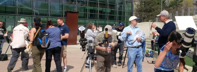 Solar Observing at the Ontario Science Centre by Katrina Ince