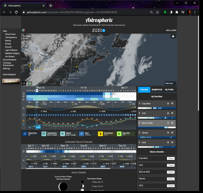 the Astrospheric main web page