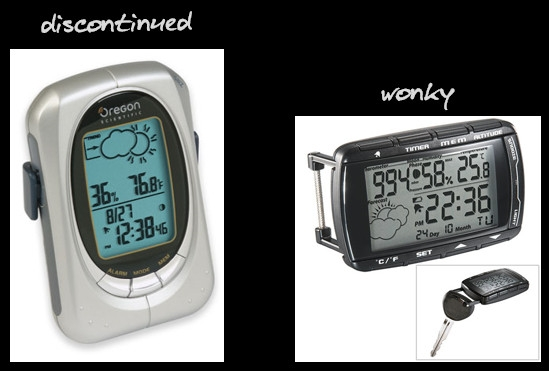 portable weather devices