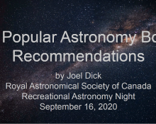 30 Popular Astronomy Book Recommendations