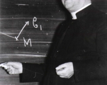 Georges Lemaître - belgian priest, astronomer and professor of physics