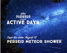 ActiveDays Perseid Meteor Shower