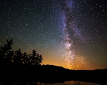 Algonquin MilkyWay by Benjamin Lappalainen