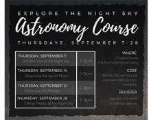 Explore the Night Sky Astronomy Course