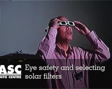 Eye safety and selecting solar filters