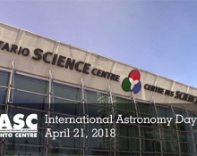 International Astronomy Day April 21, 2018