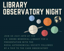 Library Observatory Night