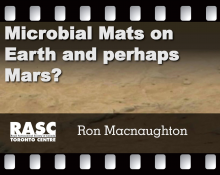 Microbial Mats on Earth and perhaps Mars?