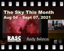 The Sky This Month August 4 - September 7, 2021