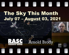 The Sky This Month July 7 - August 3, 2021