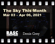 The Sky This Month Mar 03 - Apr 06, 2021