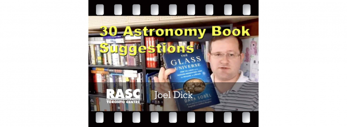 30 Astronomy Book Suggestions