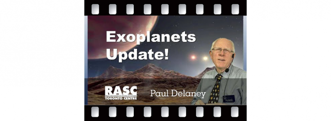 Exoplanets Update with Professor Paul Delaney