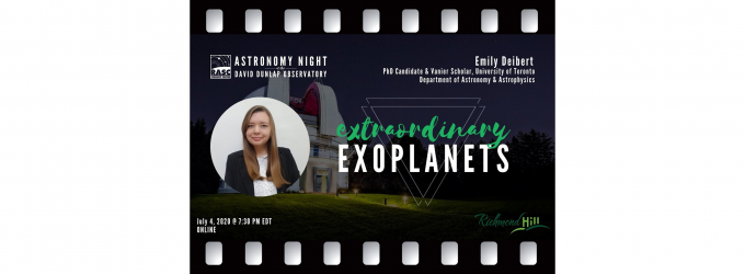 Extraordinary Exoplanets with Emily Deibert