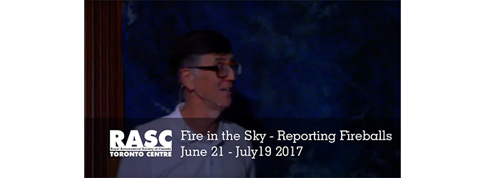 Fire in the Sky - Reporting Fireballs