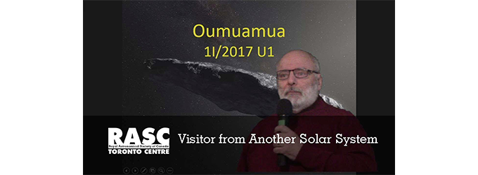 'Oumuamua: Visitor from Another Solar System