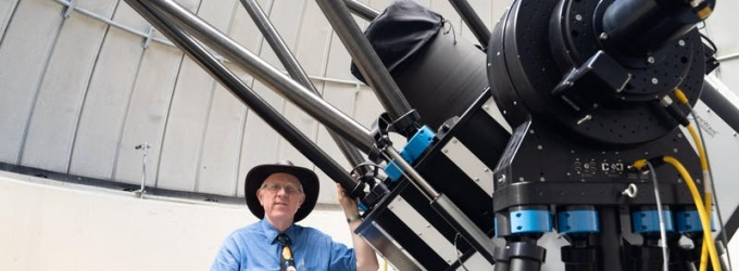 Paul Delaney and Allan I. Carswell Observatory 1-metre telescope