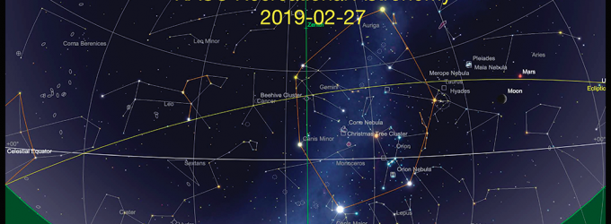 2019-02-27 The Sky This Month