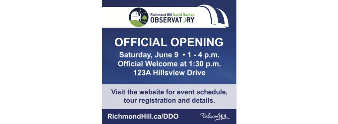 Richmond Hill DDO Official Opening
