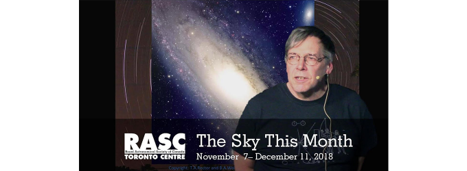 The Sky This Month Nov 7 - Dec 11, 2018