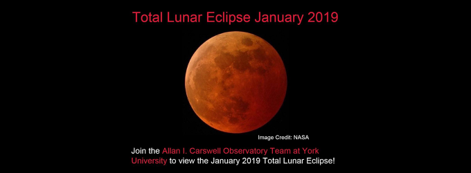 Total Lunar Eclipse January 2019