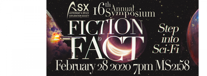 ASX Annual Symposium: Fiction to Fact: Step into Sci-Fi