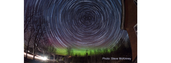 Star Trails by Steve McKinney
