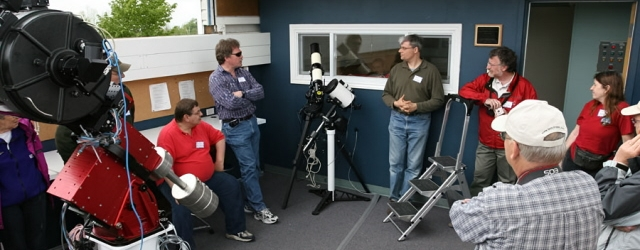 Telescopes at the CAO
