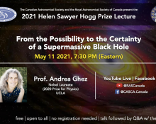 2021 Helen Sawyer Hogg Prize Lecture