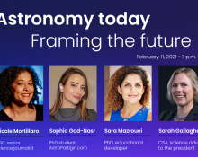 Astronomy today, Framing the future