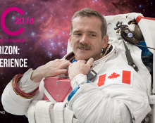 Beyond the Horizon: The Hadfield Experience