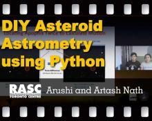 DIY Asteroid Astrometry using Python