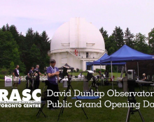 David Dunlap Observatory Public Grand Opening Day