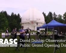 David Dunlap Observatory Public Grand Opening Day