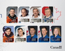 Fireside chat with Canadian astronauts