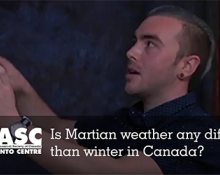 Is Martian weather any different than winter in Canada?