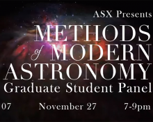 Methods of Modern Astronomy