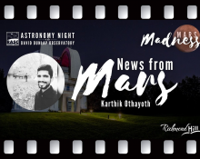 News from Mars with Karthik Othayoth