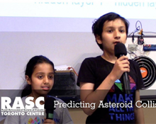 Predicting Asteroid Collision