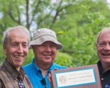Winners of the 2015 Bert Winearls Award