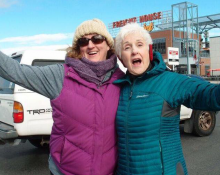 Sherry Boyer and her mother, Charline Norgrove