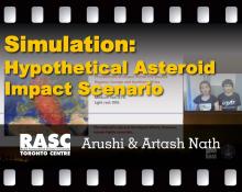 Simulation: Hypothetical Asteroid Impact Scenario