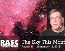 The Sky This Month August 15 - September 11, 2018