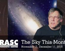 The Sky This Month Nov 7 - Dec 11, 2018