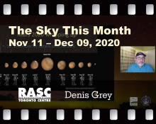 The Sky This Month for November 11 - December 9, 2020